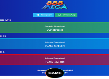 mega888 download android